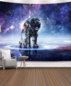 Astronaut Wandbehang